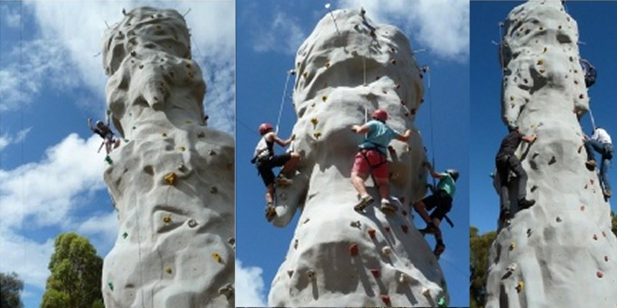 Bimbi Park Rock Climbing