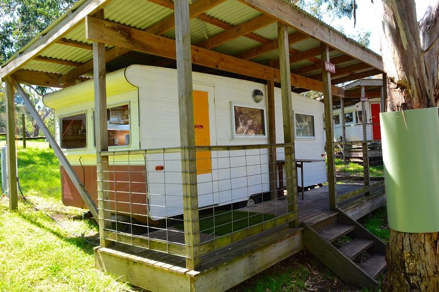 Caravan Bimbipark Front