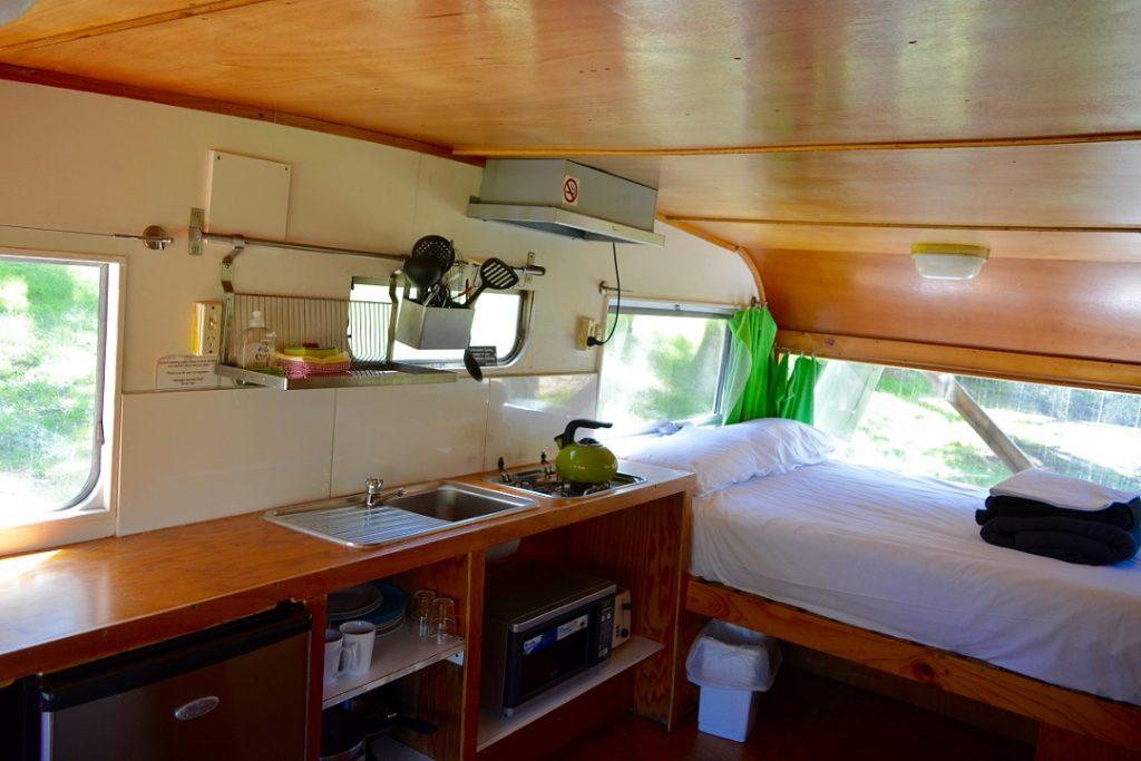 Caravan Bimbipark Inside