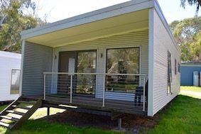 Deluxe Cabins 2 Bedroom Bimbipark Front